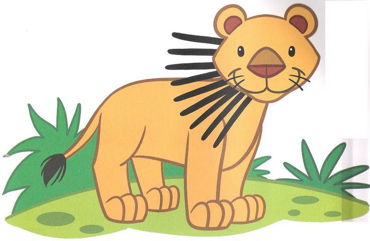 * Leeuw: plastificeren! Voor bv. strepen maken van klei of laten tekenen/verven.....!