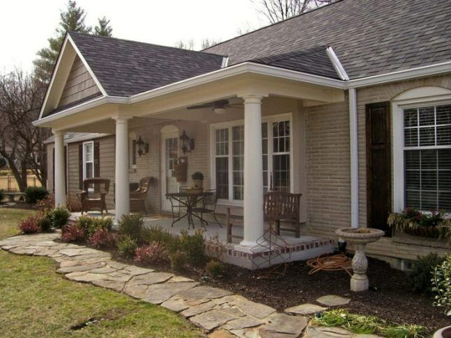 39+ Front deck ideas for ranch style homes ideas in 2021