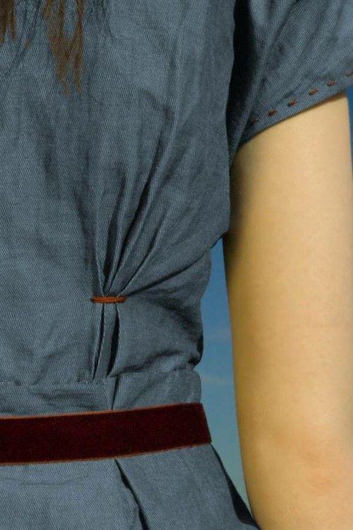 Crush Cul de Sac - Details (sewing idea)