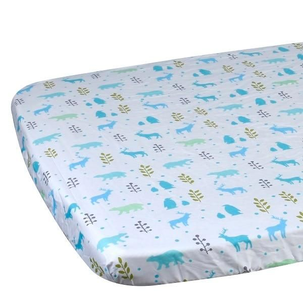 Egmaobaby 100 Cotton Crib Fitted Sheet Soft Baby Bed Mattress Cover Protector Cartoon Newborn Bedding For Cot Size 130 70cm Newborn Bed Crib Mattress Mattress Covers