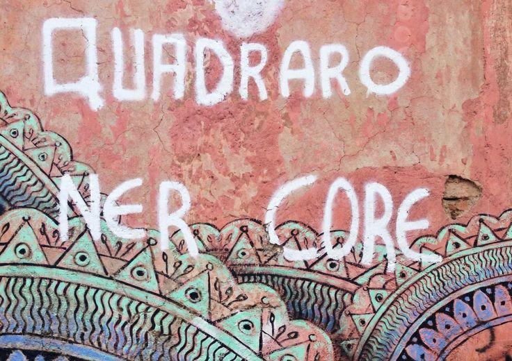 Street art in Rome's Quadraro neighbourhood