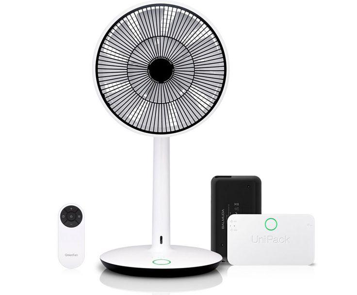 cordless power-saving fan by balmuda wins japan good design award 2012 | designboom