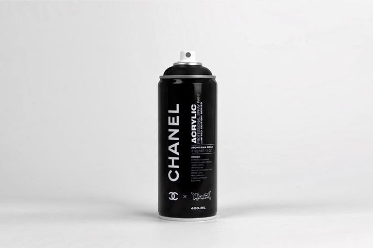 Montana Fashion Brand Spray Can Concept by Antonio Brasko