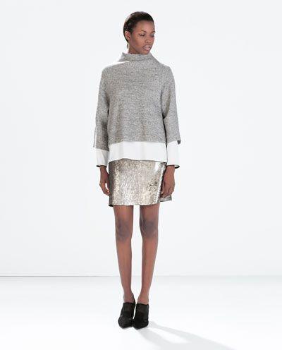 SEQUINNED MINISKIRT-Mini-Skirts-WOMAN | ZARA United States