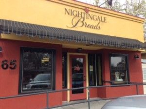 Best bakery in Sonoma County: Nightingale Breads in Forestville, CA......Forestville is where my children were raised, the town sign always said....population 2,000.
