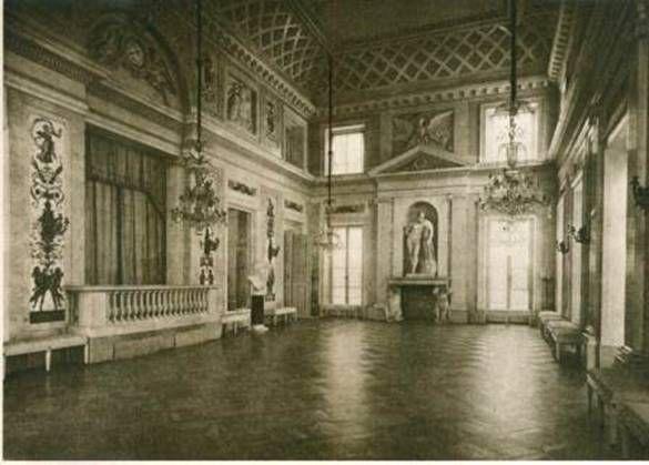 Warsaw, Łazienkowski Palace, Ballroom 1788-93, J. Ch. Kamsetzer