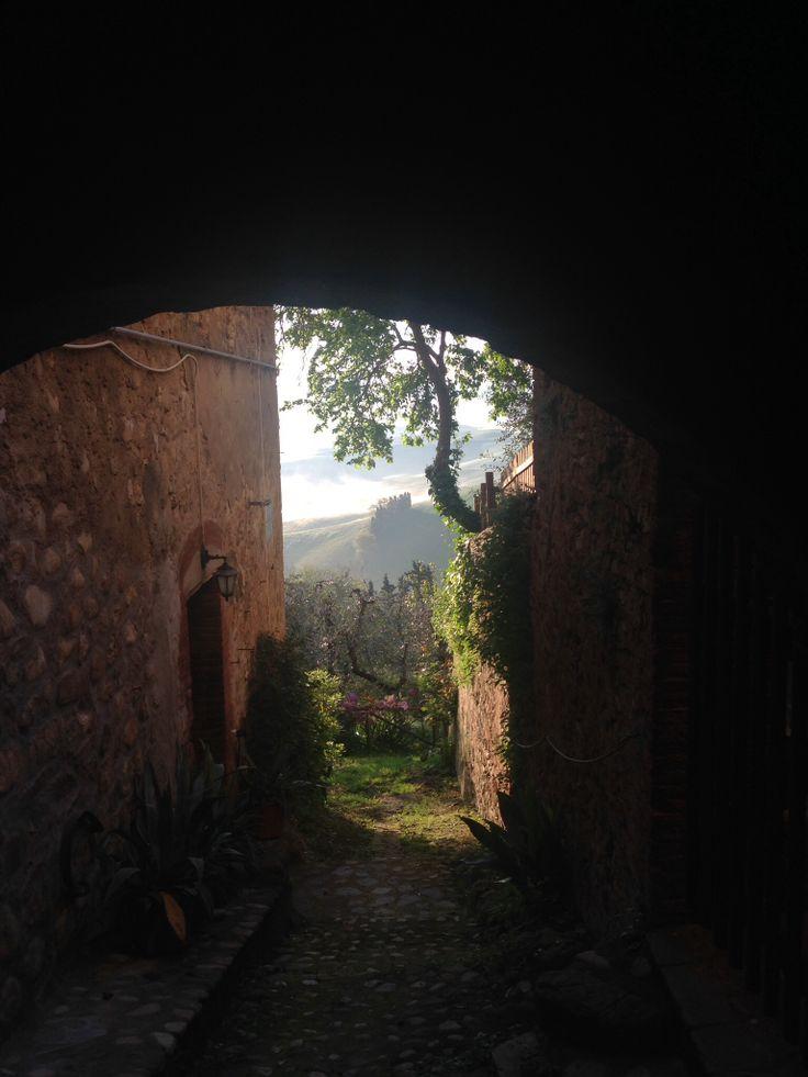 Lajatico Easter morning 8 o'clock 2014