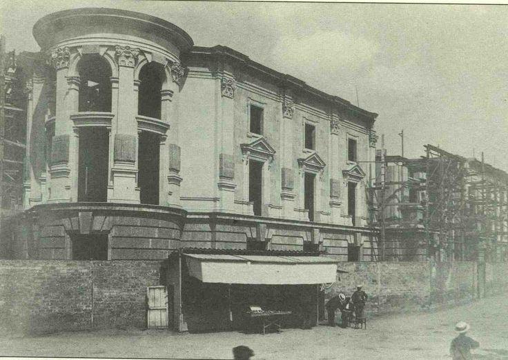 Ayuntamiento en construcción. 1920