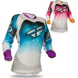 2014 FLY Kinetic Race Women's Motocross Jerseys