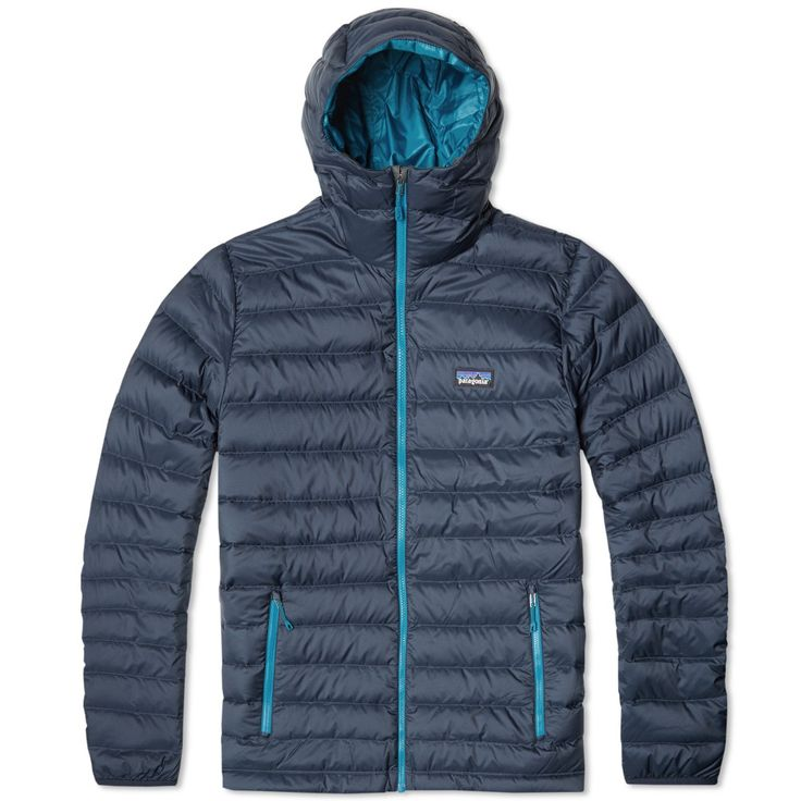 Established in Southern California in 1974 by dedicated climber and environmentalist Yvon Chouinard, Patagonia create reliable, functional and above all else sustainable outdoor apparel. Constructed from a superbly light 100% polyester shell, with a ripstop weave and Deluge water repellent coating, the Down Sweater Hoody is insulated with a 800-fill goose down sourced from Europe. Kitted out with a stretch mesh interior chest pocket, it is closed with a full length zip and finished with…