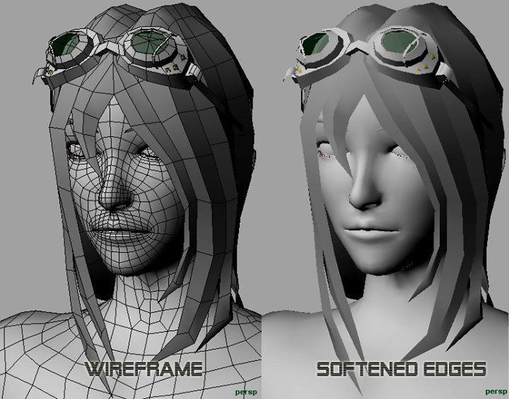 Female Face Topology
