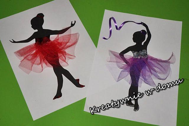 Roztańczone baletnice | Kreatywnie w domu