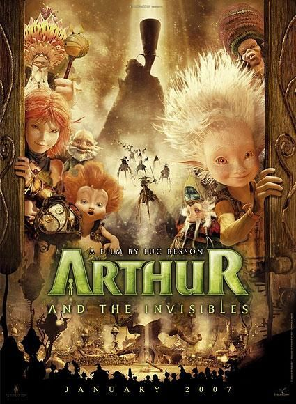 Arthur and the Invisibles. I LOVE that David Bowie voiced the villain in this movie. RIP David. (1947-2016)