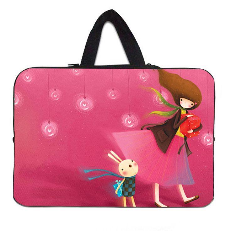 Sleeve 15.6 Inch Laptop Pouch Fashion Woman Soft B…