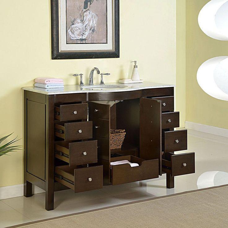 Badezimmermobel Die Richtige Accessoires Und Wirkungsvolle Beleuchtung Tauchten Das Badezimmer In Die Richtige Atmosphar Vanity Double Vanity Bathroom Vanity