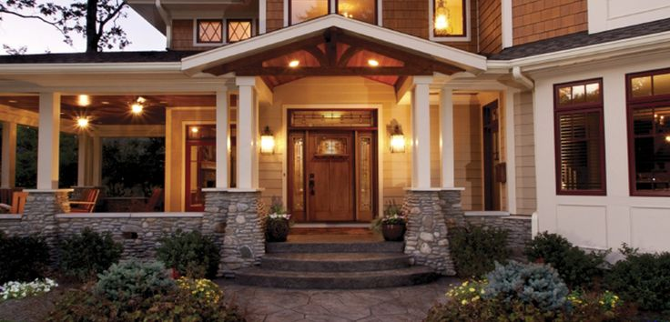 In today's post, we gathered 21 Stunning Craftsman Entry Design Ideas helping you improvise and reinvent your main entrance. There are plenty of key elements