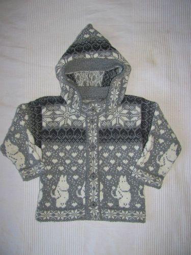 Moomin Gorgeous Wool Hooded Jacket
