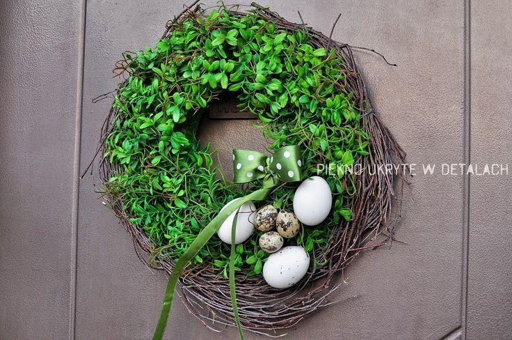 Piękno ukryte w detalach ...: Zielony potrzebny od zaraz...czyli Wielkanoc w ogr...