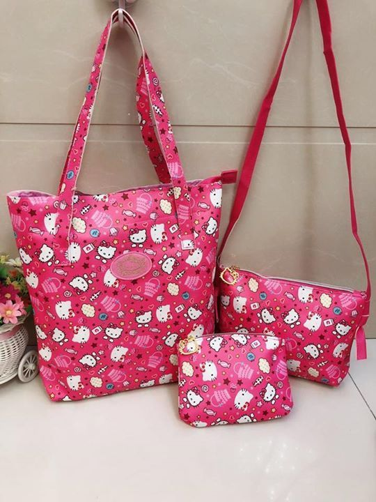 3in1 Bag P 650 only  Limited stock! #hellokitty #sanrio#biggestfan #novelty #toys #clothing