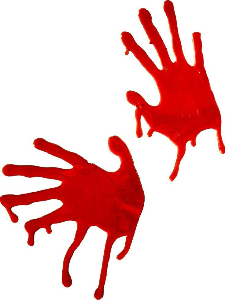 Veriset kädenjäljet ikkunasomiste.