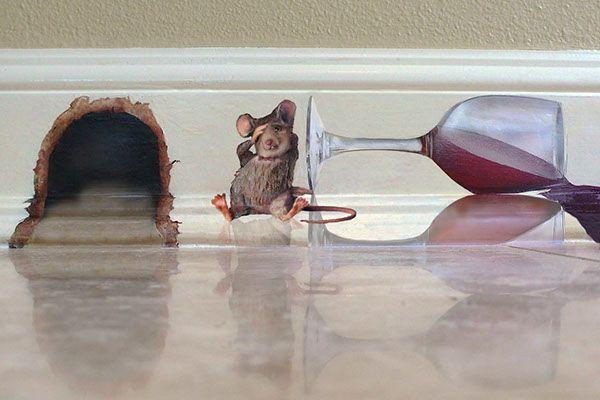 Tipsy Mouse Mural on Behance