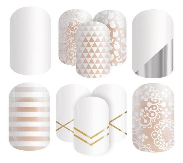 """Jamberry Nails - Colors - White"" by kspantonjamon on Polyvore featuring beauty"