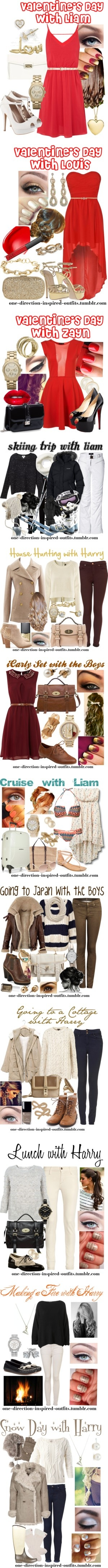 """One Direction Inspired Outfits and Imagines #2"" by one-direction-inspired-outfits ❤ liked on Polyvore"
