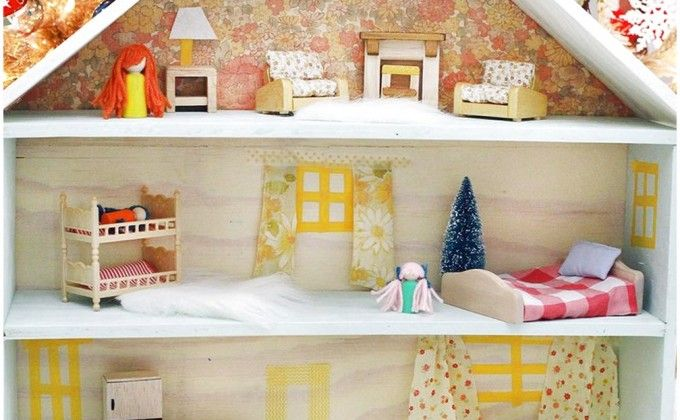 How To Make Attractive Art Of DIY Wooden Dollhouse, For Your Child At Home, So, Develop Imagination Ff