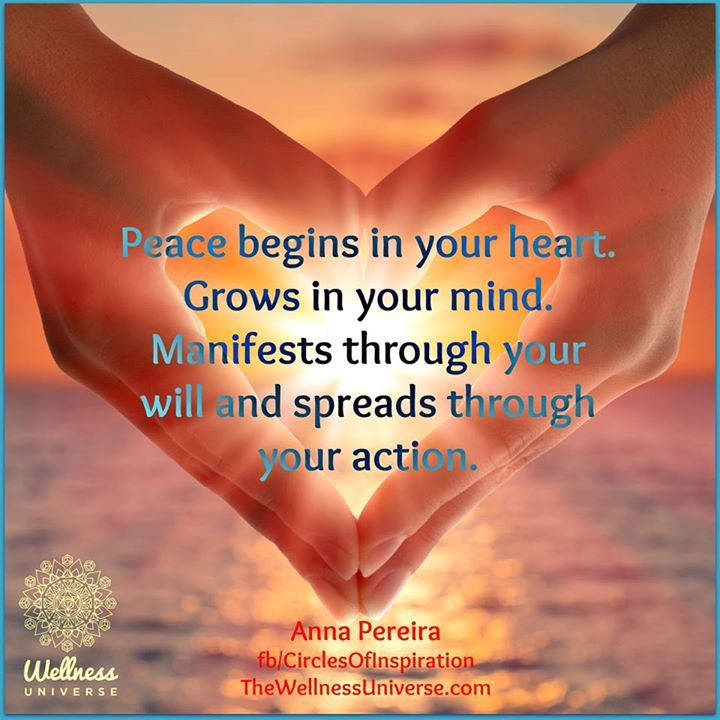 World peace begins at home quote