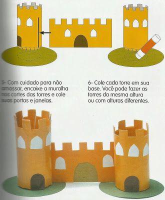 Professora de Artes: castelo