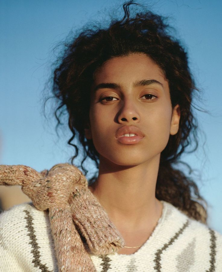 imaan hammam believes the future is full of colour | read | i-D
