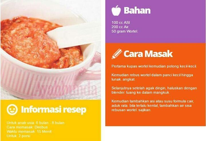 Resep Mpasi Jojia Baby Food Guide Baby Food Recipes Food Guide