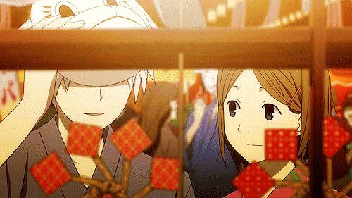 Hotarubi no Mori e romance anime