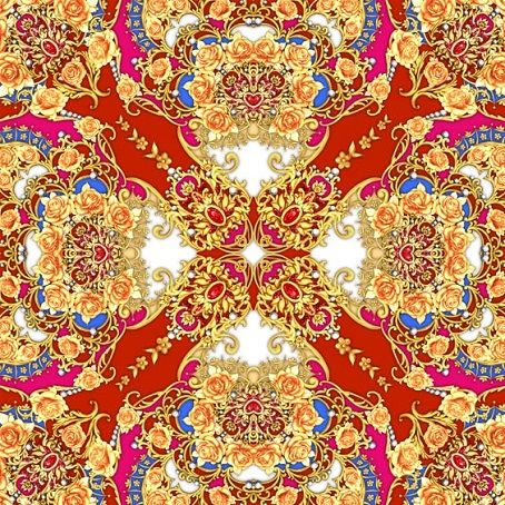 Square composition with orange roses,pearls and rubies by Maria Rytova #pattern #textile #background #backing #paper #work #纹样 #damask #арт #картинки #picture #decoupage #декупаж #дамаск #узоры #barok #baroque #wallpaper #design #卷草 #flower #图案 #фон #print #принт #printable #papel #ornament #seamless #golden #luxury #surface #rose #floral #decorative #decor #vintage #tile #бордюр #border