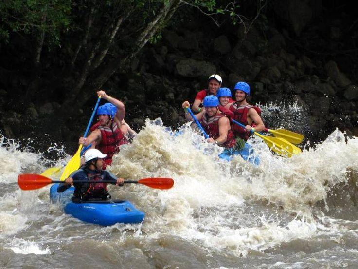 El Canotaje en el Río Suarez y Chicamocha es otra respuesta que Colombia le da a los turistas de aventura