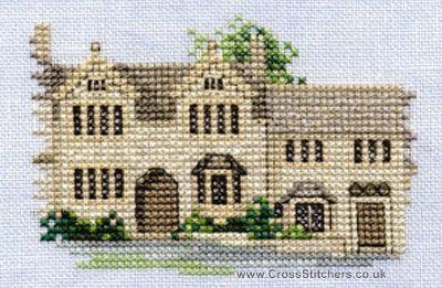 Burford - Minuets - Cross Stitch Kit from Derwentwater Designs