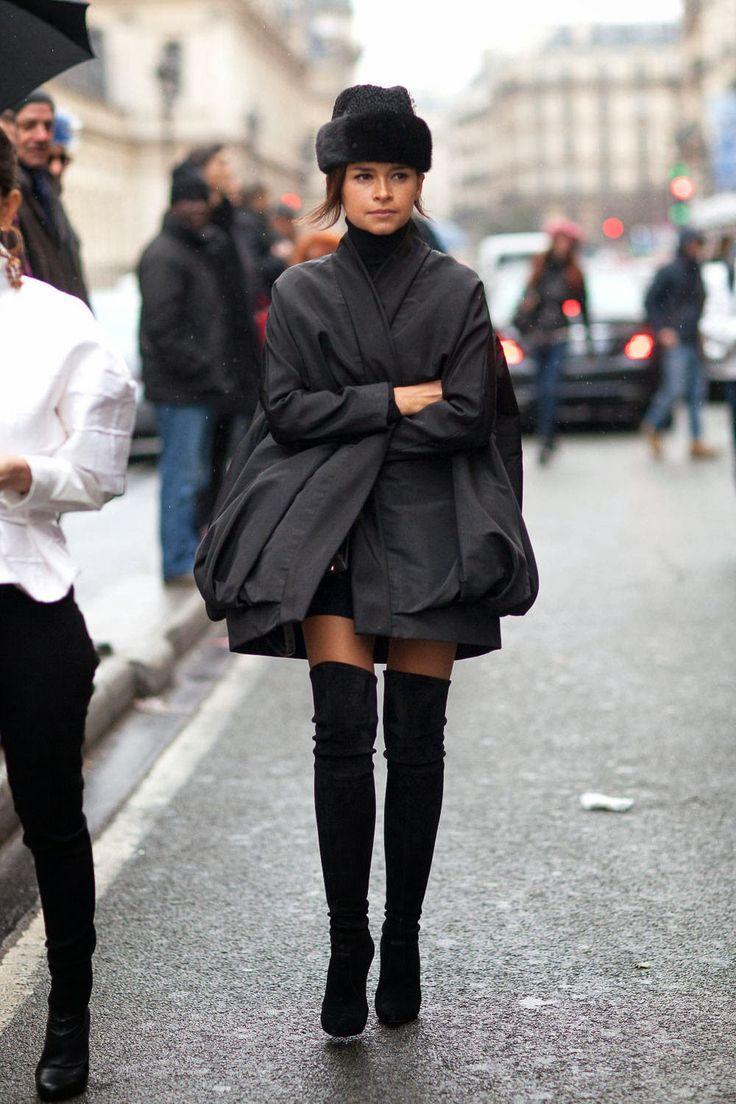 fashion-clue:  www.fashionclue.net | Fashion Tumblr, Street Wear & Outfits  Miroslava Duma street style