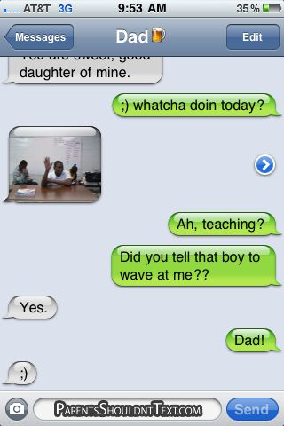 Parents Texting Gone Wrong