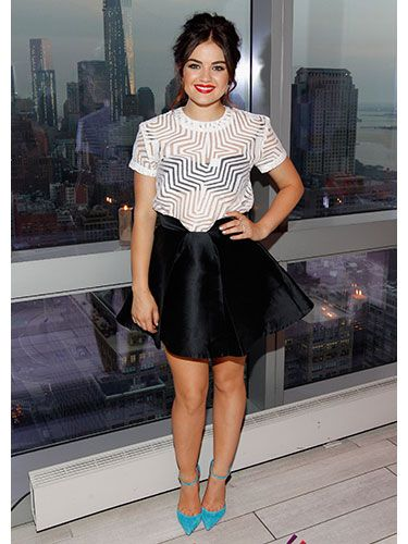 Lucy Hale #celebrity #style #2013