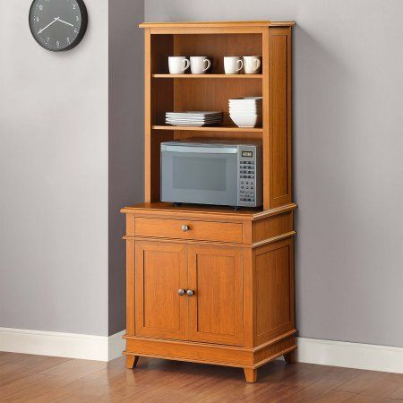 Mainstays Multi-Purpose Kitchen Stand / Workstation, Cherry Finish