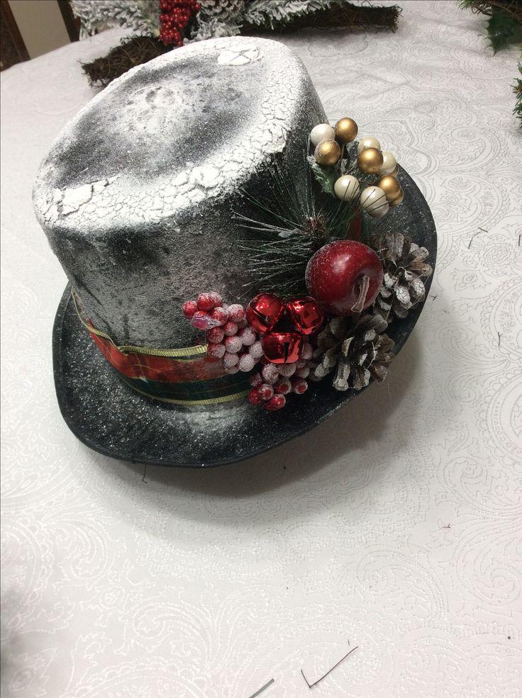Snowman hat 🎩  2017