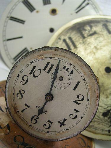 Old clocks   ...