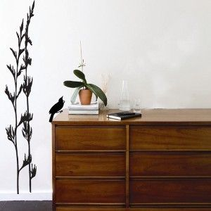 Kiwiana Flax Flower Wall Sticker