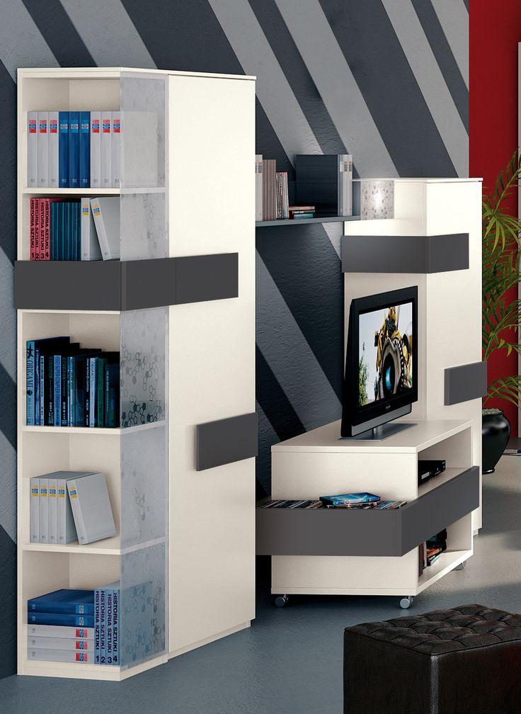 best 10+ wohnwand weiss ideas on pinterest | wohnzimmer-akzente ... - Wohnwand Weis Modern