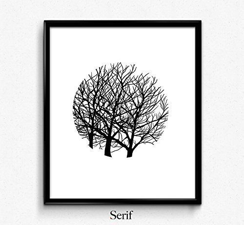 Tree Art Print, Black and White Print, Nature Drawing, Ink Illustration, Autumn, Forest Landscape,Photography, minimalist poster, home decor. mid century modern decor, college dorm room decor, dorm wall art, scandinavian art print, holiday gift, wedding gift, office decor, minimalist poster, inspirational quotes ITEM DETAILS --------------------------- This listing is for a print only. The frame is not included. PAPER --------------------------- Artwork is professionally printed on…