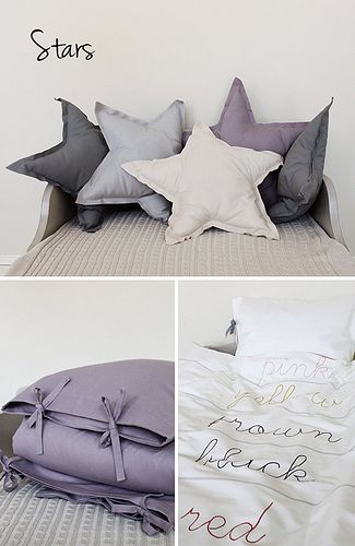 STAR pillows, I have the perfect fabric for this!