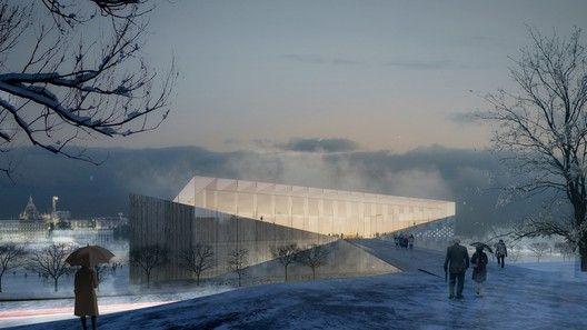 Proposta para o Museu Guggenheim Helsinki / Indio da Costa