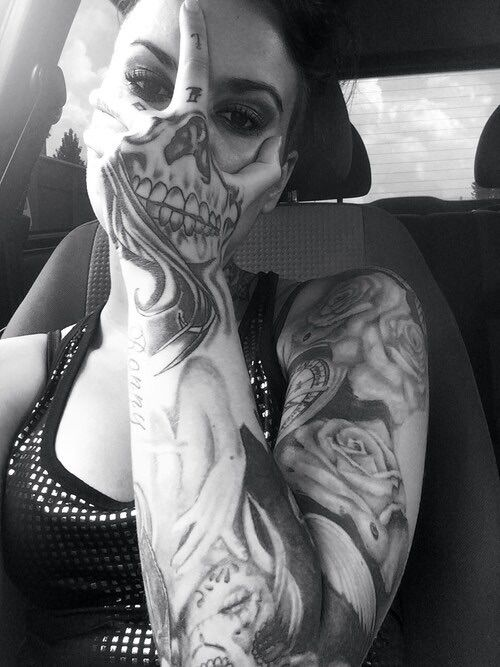 Tattoos e caveiras   Old Dog Cycles