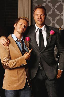True Blood Season 7 Finale - Jason and Hoyt. So glad they repaired their friendship! RIP True Blood
