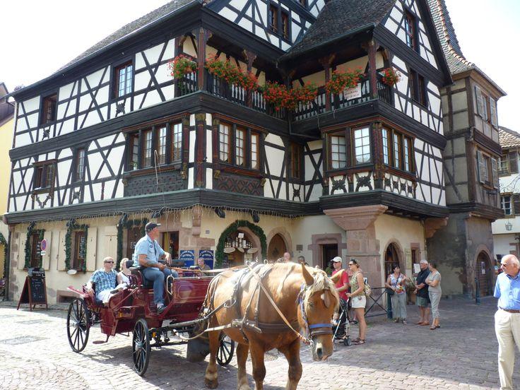 Kaysersberg una pequeña ciudad anclada en el pasado y con un encanto único